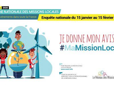 Semaine Nationale des Missions Locales – Du 11 au 20 mai 2020