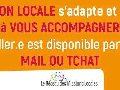 Suivi Mission Locale – AVRIL 2020