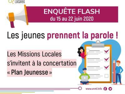 Enquête Flash Missions Locales : les résultats !