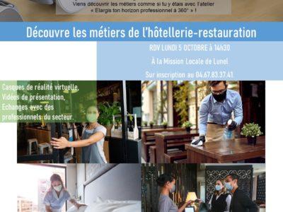 Élargis ton horizon professionnel : Hôtellerie-Restauration