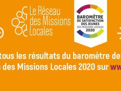 Baromètre de satisfaction des jeunes des Missions Locales 2020