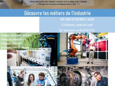 Élargis ton horizon professionnel : Industrie