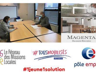 Recrutement Magenta – Partenariat Pôle Emploi et Mission Locale
