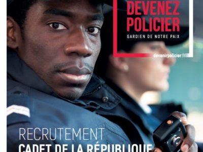 Recrutements Cadets de la République 2021